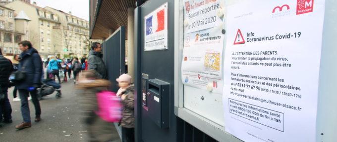 Coronavirus: les crèches et les établissements scolaires du Haut-Rhin fermés, à partir de lundi