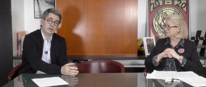 COVID-19 : Michèle Lutz et Jean Rottner répondent à vos questions en direct sur Facebook