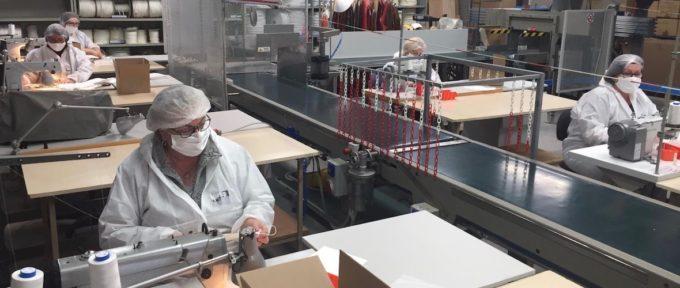 L'industrie textile alsacienne se mobilise pour produire des masques