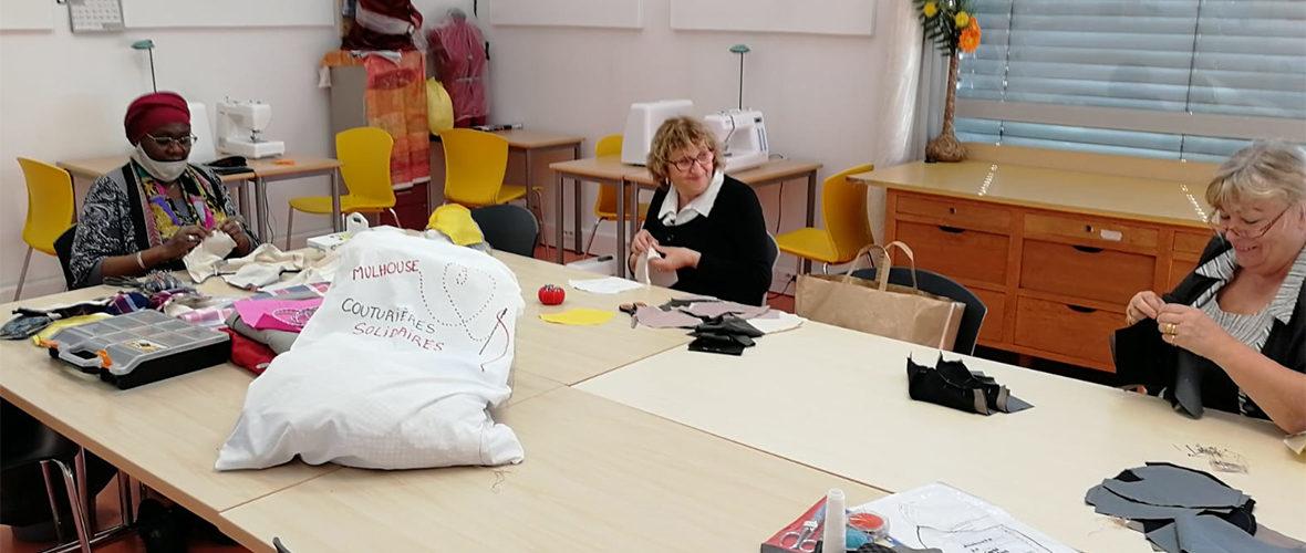 Des couturières solidaires face à la pénurie de masques   M+ Mulhouse
