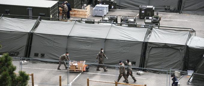 Covid-19 : L'hôpital militaire de campagne s'en va mais la vigilance reste de mise