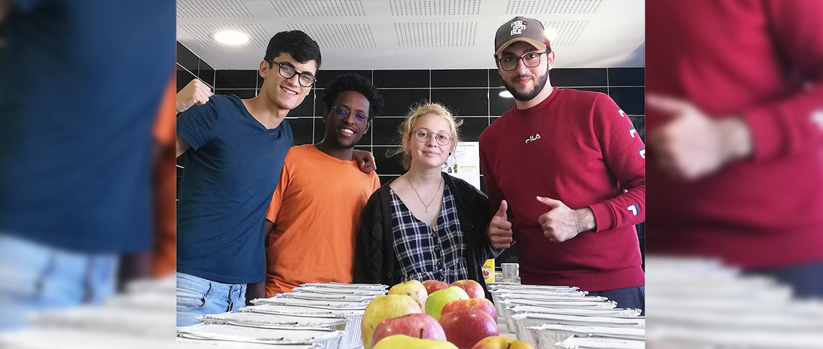 COVID-19 : des étudiants solidaires avec les sans-abris | M+ Mulhouse