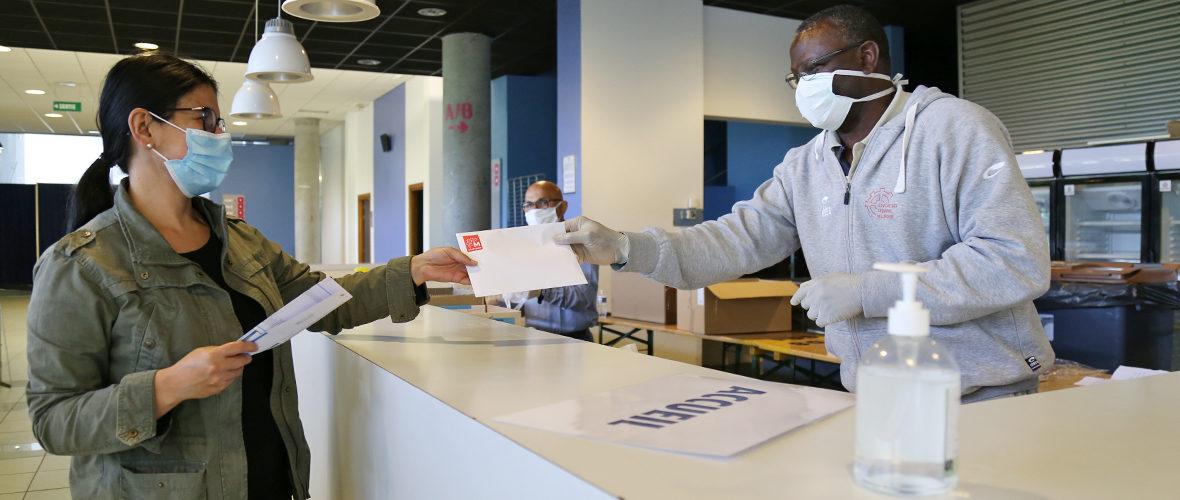 Distribution de masques : dernière ligne droite | M+ Mulhouse