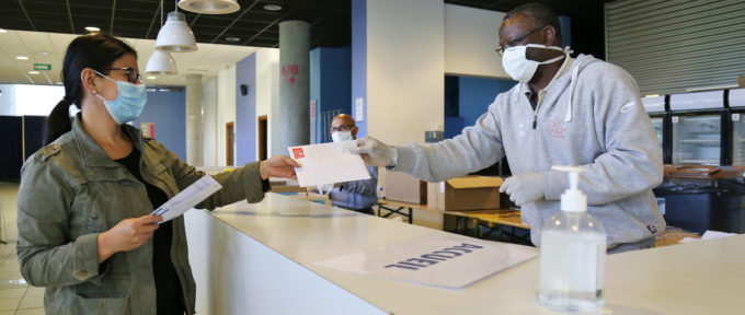 Distribution de masques : dernière ligne droite