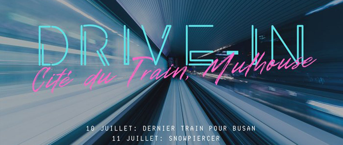 Drive-in à la Cité du train