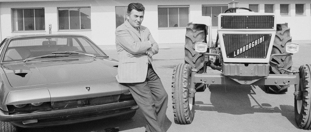 Pop Lamborghini à la cité de l'automobile