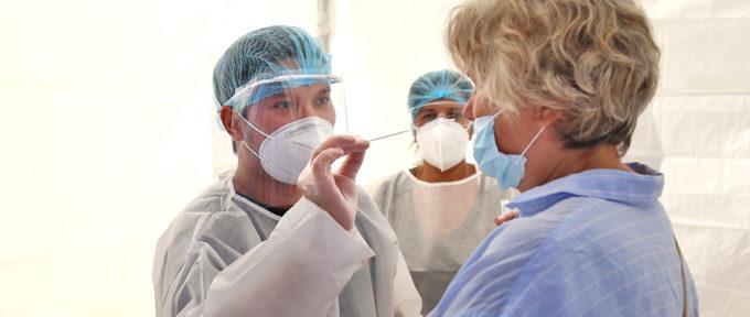 Covid-19: deux jours de dépistage pour tous à Porte Jeune