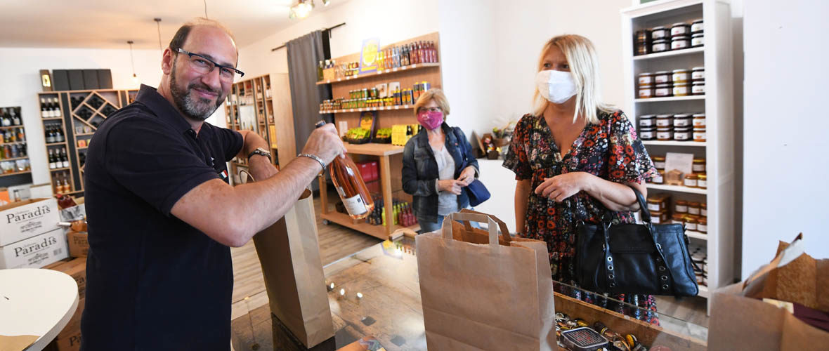 Entre épicerie fine et cave à vin, le « Bacchus Nouveau » ouvre rue des Tondeurs | M+ Mulhouse