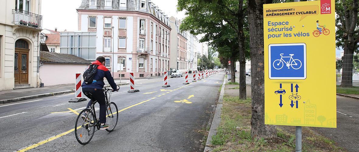 Consultation sur les aménagements cyclables: à vous de jouer! | M+ Mulhouse