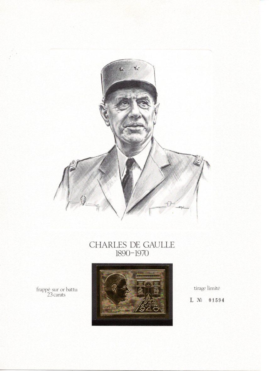 """""""2020, Triple Anniversaire lié au Général de Gaulle"""""""