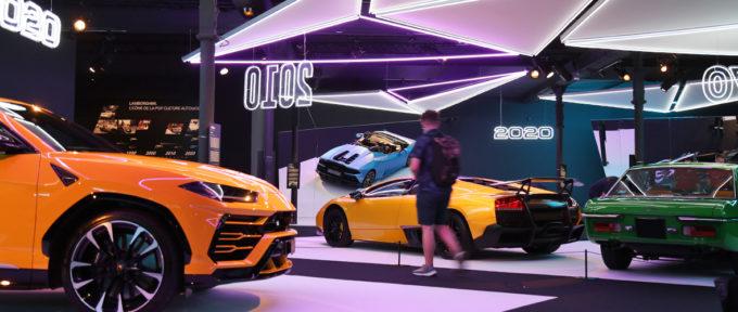 Le rêve Lamborghini se déploie à la Cite de l'auto