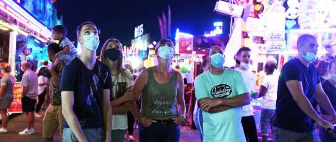 Foire-kermesse de Mulhouse : une amende de 135 € en cas de non-respect du port du masque