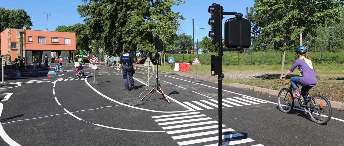 Une nouvelle piste d'éducation routière à la rentrée | M+ Mulhouse