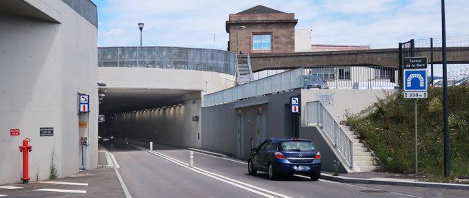 Circulation: le tunnel de la Voie Sud fermé du 6 au 10 juillet