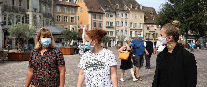 Le port du masque devient obligatoire au centre-ville de Mulhouse