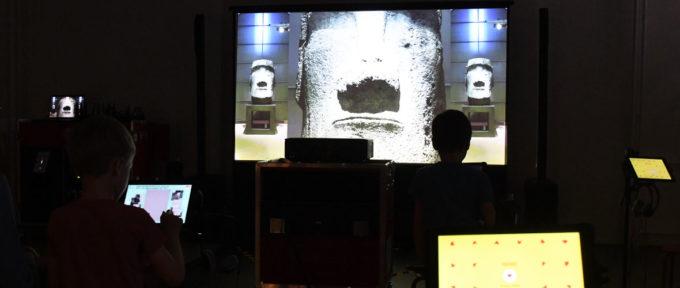 Micro-Folie : un incroyable musée numérique à la bibliothèque Grand' rue