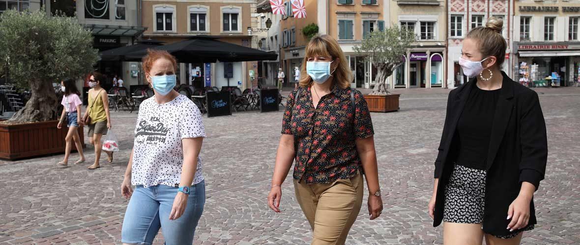 Port du masque obligatoire au centre-ville de Mulhouse: prolongation jusqu'au 30 septembre | M+ Mulhouse