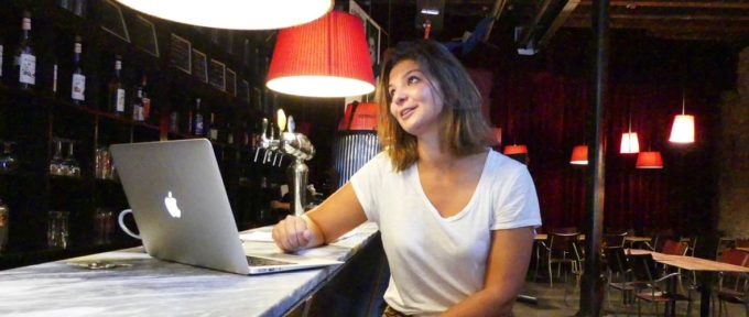 Sara Marguier, directrice de L'Entrepôt: «On a besoin de se marrer !»