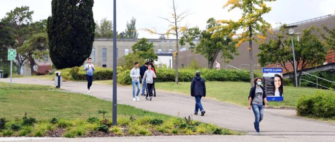 Université de Haute-Alsace : une rentrée particulière