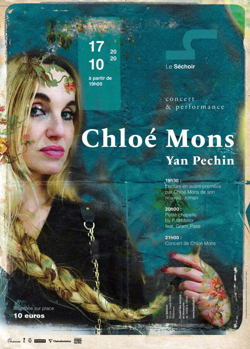 Concert de Chloé Mons accompagnée de Yan Pechin