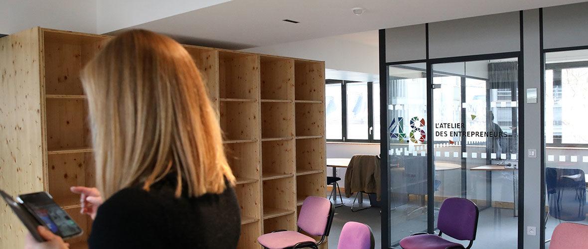 Un nouveau lieu totem pour répondre aux besoins des entrepreneurs | M+ Mulhouse