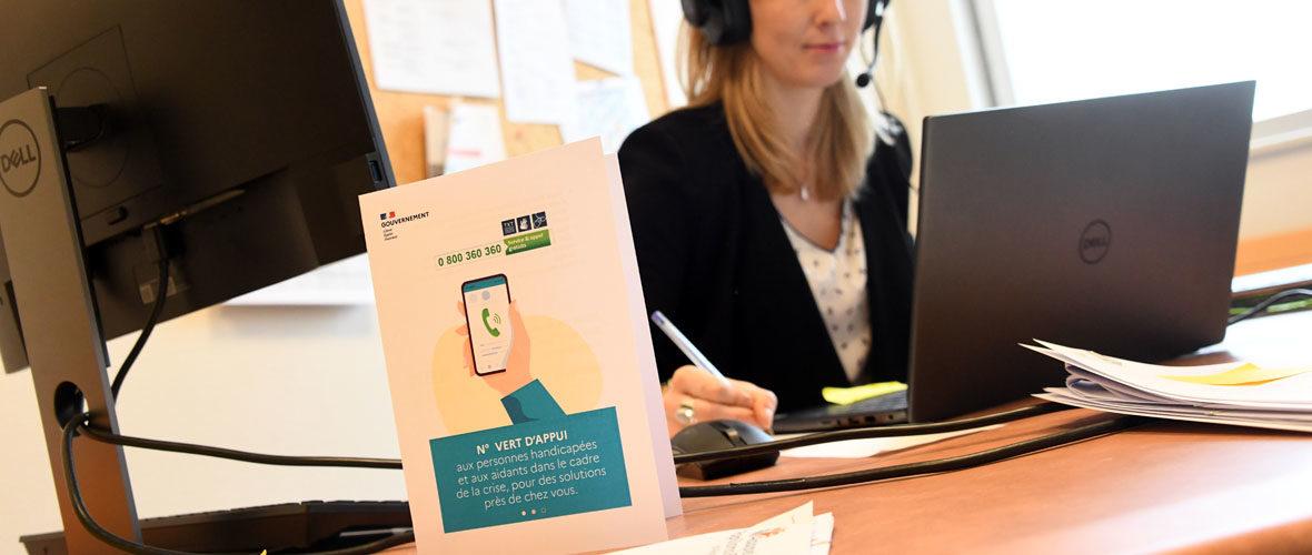 Covid : Un n° vert pour les personnes handicapées et leurs aidants | M+ Mulhouse