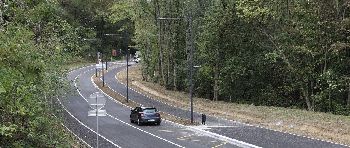 La nouvelle route entre Mulhouse et Brunstatt-Didenheim est ouverte | M+ Mulhouse