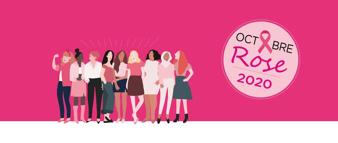 Octobre rose : un mois pour sensibiliser aux cancers féminins | M+ Mulhouse