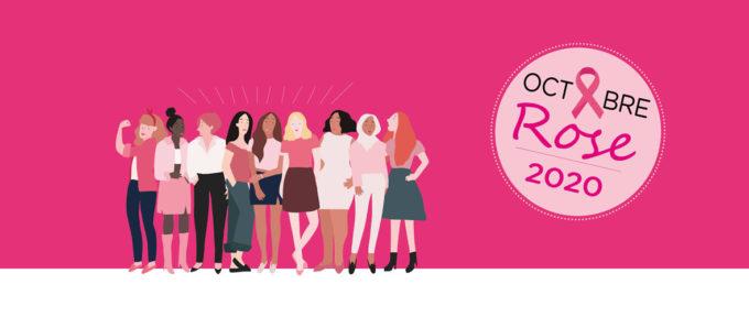 Octobre rose : un mois pour sensibiliser aux cancers féminins