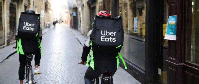 Deux bougies pour l'appli de livraison de repas à domicile Uber Eats à Mulhouse