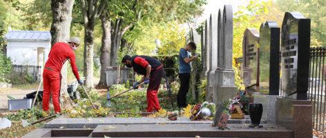 Cimetière: le patrimoine au service de l'insertion des jeunes