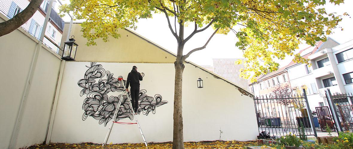 L'art urbain de KEF! s'invite au CSCPapin | M+ Mulhouse