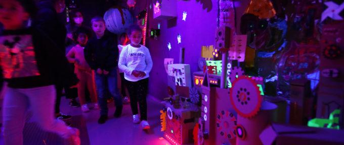 Un escape-game de l'espace aux Ateliers pédagogiques d'arts plastiques