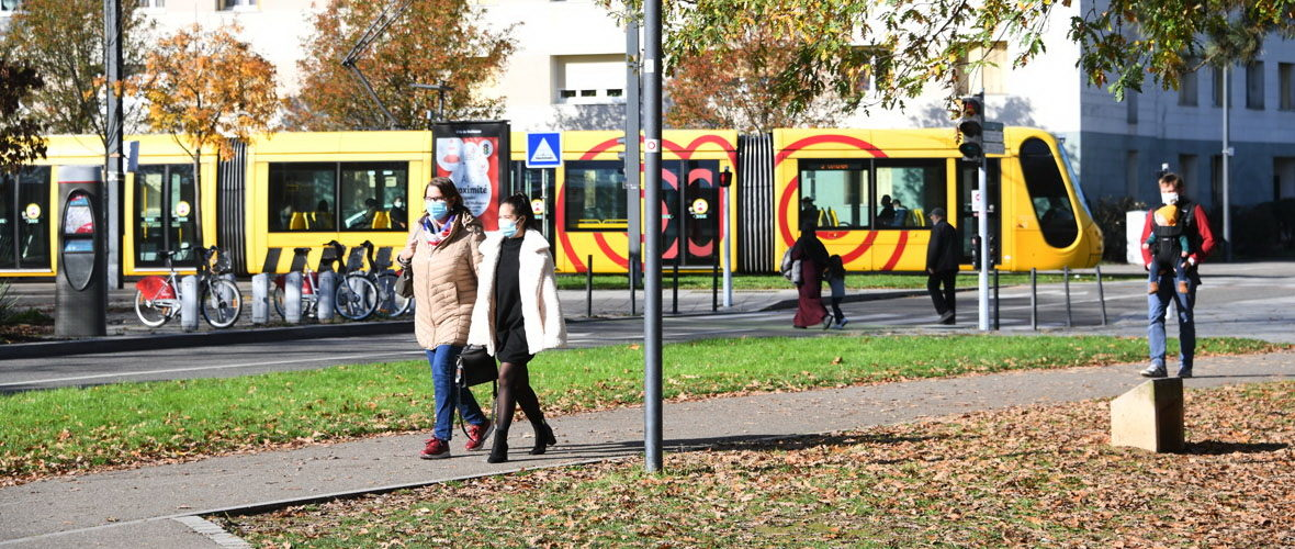 COVID-19 : le port du masque généralisé à toute la ville de Mulhouse | M+ Mulhouse