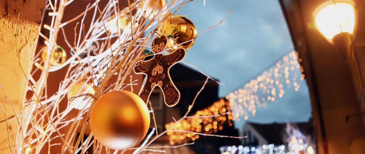 Commerces : un concours pour la plus belle vitrine de Noël | M+ Mulhouse