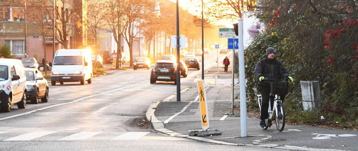 Les nouvelles voies cyclables évoluent, suite à la concertation | M+ Mulhouse