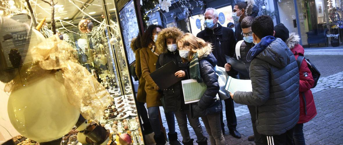 Concours : les jeunes élus notent les plus belles vitrines de Noël   M+ Mulhouse
