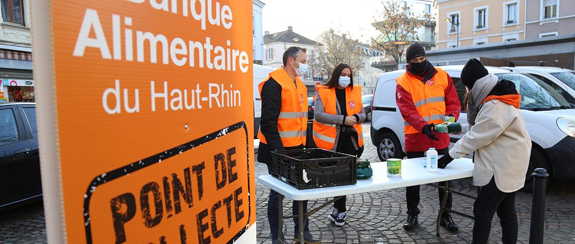 Aide Banque alimentaire : une collecte itinérante dans les quartiers   M+ Mulhouse