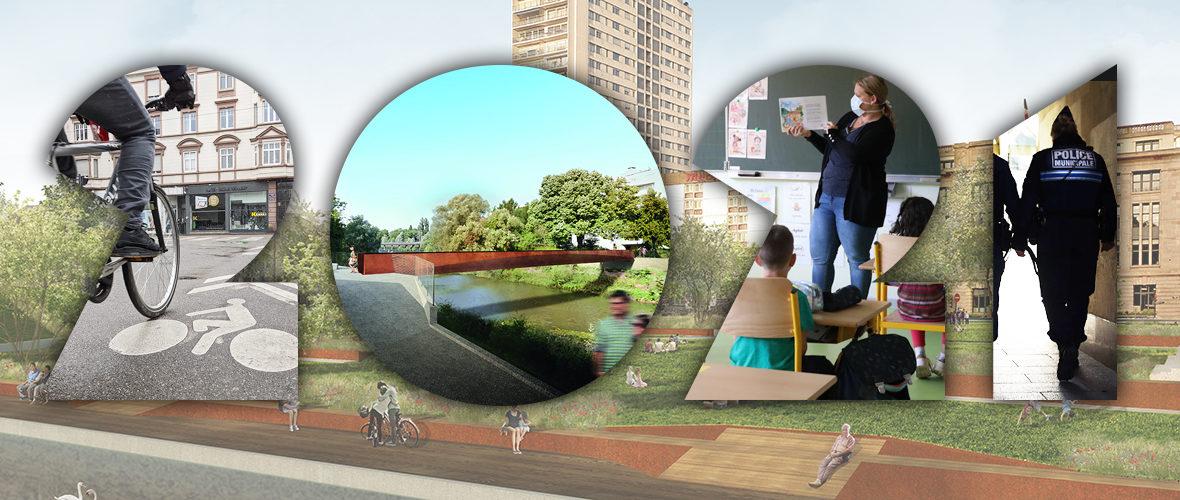 Aménagements, sécurité, transports, écoles, vie citoyenne… Ce qui change en 2021 à Mulhouse! | M+ Mulhouse