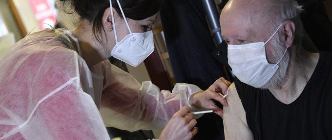 Le centre de vaccination mulhousien en 10 images