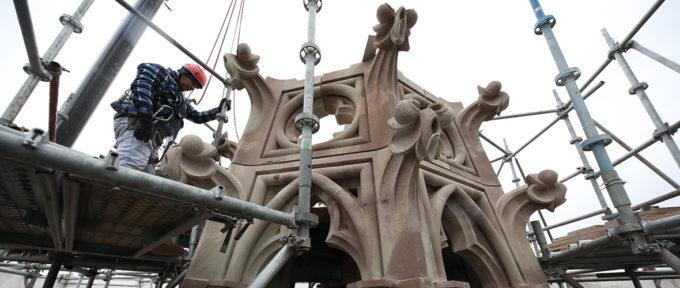 Temple Saint-Etienne: une rénovation façon puzzle