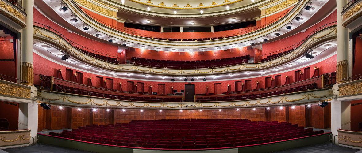 Fermé au public, le Théâtre de la Sinne reste ouvert au monde culturel | M+ Mulhouse