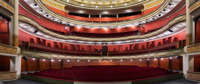 Fermé au public, le Théâtre de la Sinne reste ouvert au monde culturel