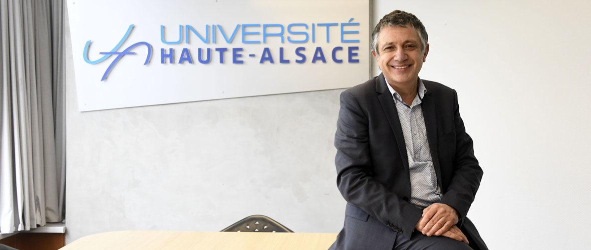 Un nouveau président pour l'Université de Haute-Alsace | M+ Mulhouse