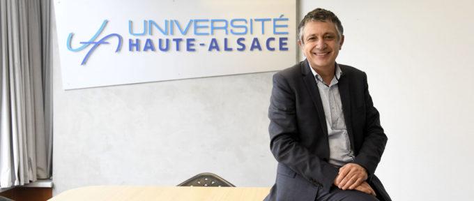 Un nouveau président pour l'Université de Haute-Alsace