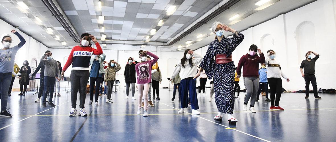 Cap sur le Japon pour les 115 enfants de l'orchestre Démos | M+ Mulhouse