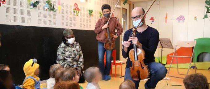 L'Orchestre symphonique de Mulhouse, c'est aussi pour les pitchouns!