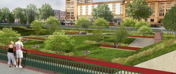Top départ pour l'ouverture du canal et le réaménagement du square de la gare