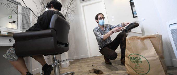 Salons de coiffure: vos cheveux pour dépolluer la mer