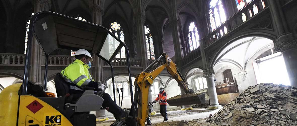 Temple Saint-Etienne: après les travaux extérieurs, l'intérieur! | M+ Mulhouse